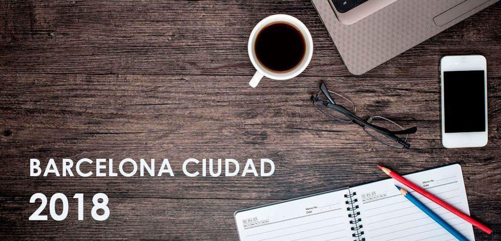 Calendario laboral BCN ciudad 2018